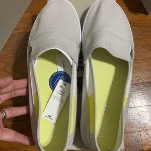 Lacoste loafers for women